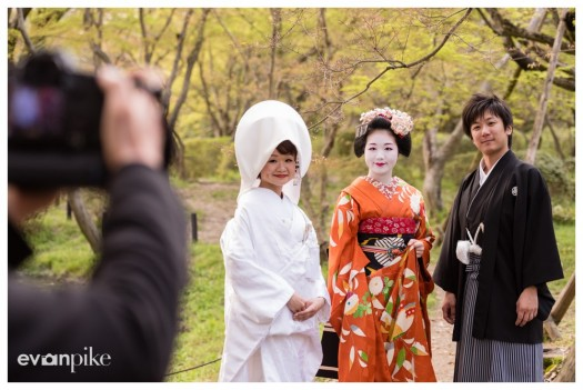 portrait with maiko japan photo guide