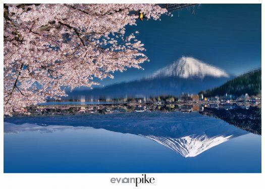 upsidedown fuji Japan Photo Guide